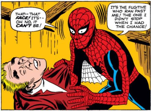 It is a cruel twist of fate that inspires Spider-Man to use his powers responsibly.