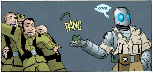 "Clevinger and Wegener bring a great deal of fun to ""Atomic Robo""."