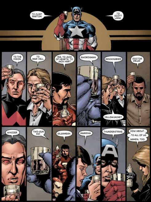 Bendis and Perez send the Avengers off with class.