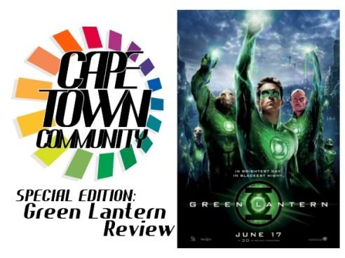Cape Town Title Card -Green Lantern