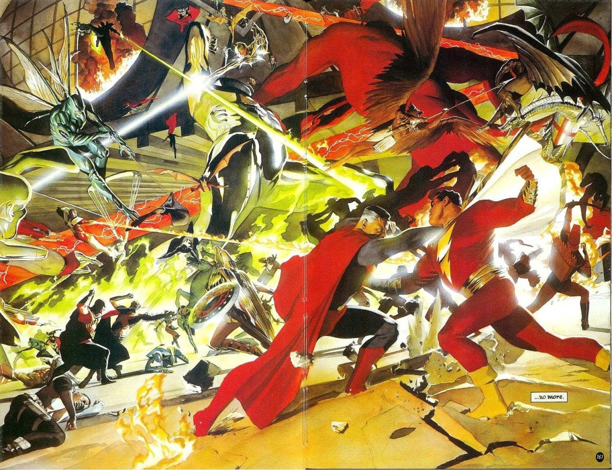kingdom come comic book review