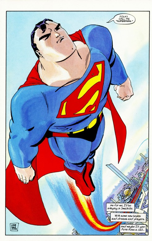 Sale offers a timeless version of the Man of Steel.