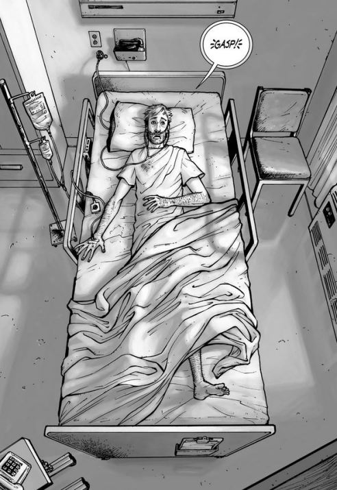Rick Grimes is going to regret getting out of bed.