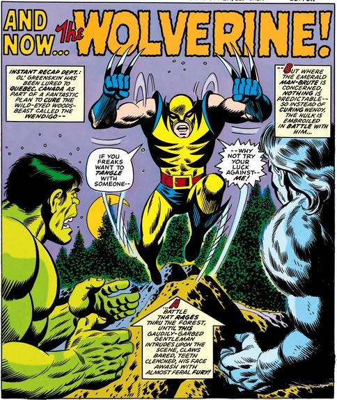 "Though the character was first seen in ""The Incredible Hulk"" #180, it is the following issue where the hero makes a full appearance."
