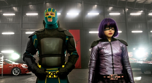 Kick-Ass (Taylor-Johnson) and Hit-Girl (Moretz) are ready for a few more rounds of justice.
