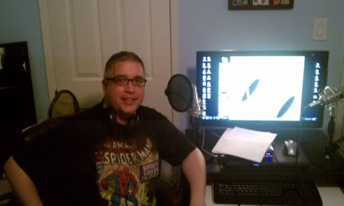 Here I sit, waiting to record my very first podcast in 2011.