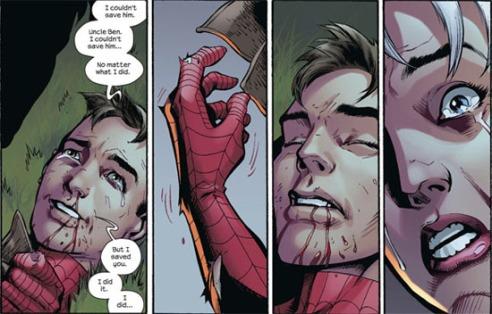 Peter Parker's journey ends.