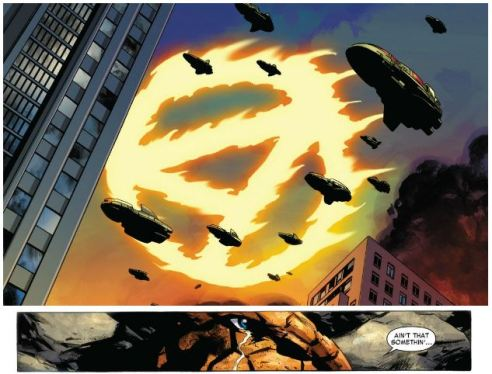 Human Torch's return may have had more impact than his demise.