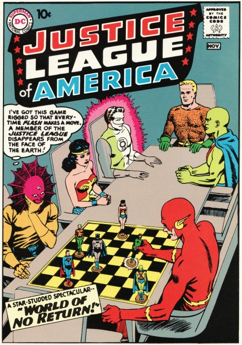 """Justice League of America"" #1 premiered in November 1960."