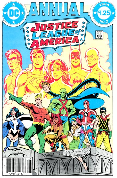 The Detroit League featured a team of new young heroes, led by Aquaman.