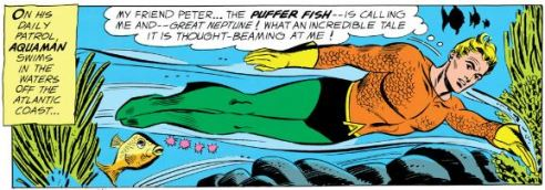 Aquaman buddy Peter sets a series of events in motion that will affect the entire DCU.