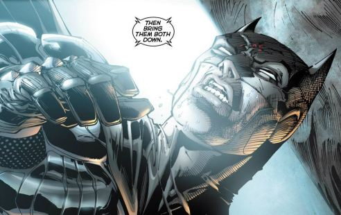 Lee's new Batman costume is an excellent reinterpretation of the Dark Knight.