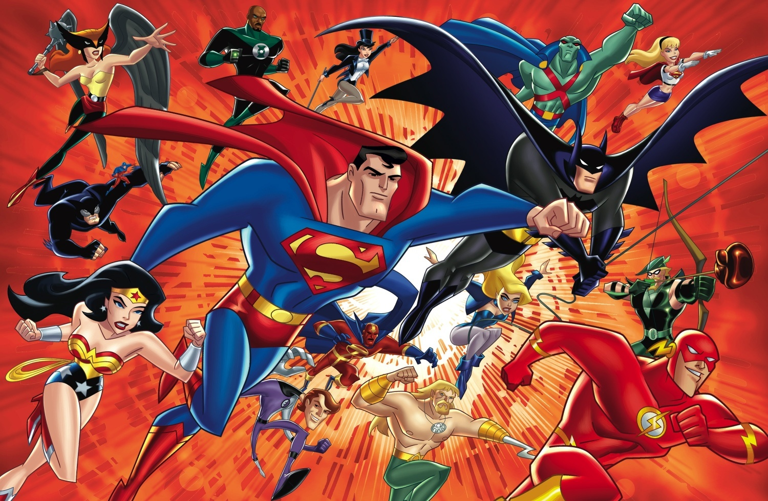 "Cartoon Characters Justice League : Fantastic firsts ""the brave the bold comics"