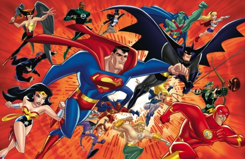 "The Cartoon Network's ""Justice League"" cartoons featured a mix of popular and obscure DC characters."