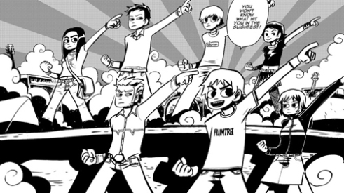 Scott Pilgrim and his friends are totally infectious.