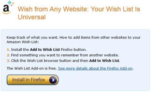 Wish List 6