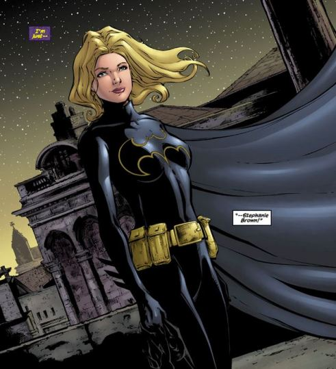 Stephanie Brown reveals herself as Batgirl.