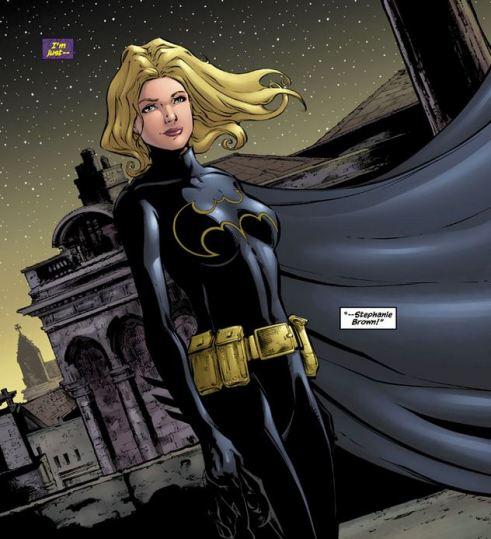 Stephanie Brown reveals herself as Batgirl.