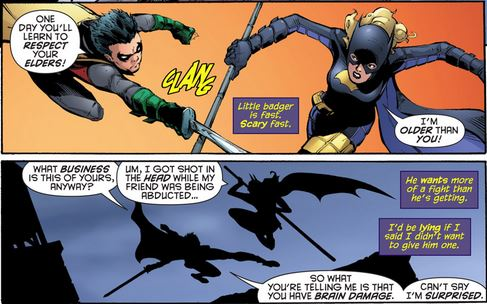 There's no love lost between Damian Wayne and Stephanie Brown.