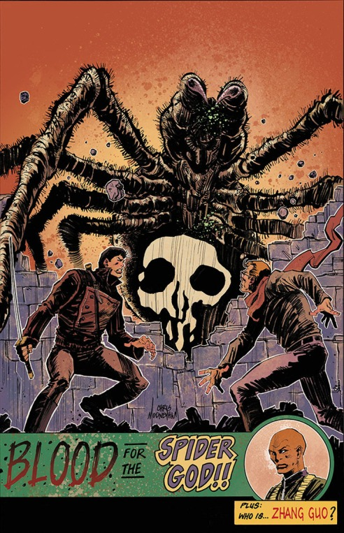 "Barbiere and Mooneyham strike the perfect sense of pulp adventure in this first volume of ""Five Ghosts""."