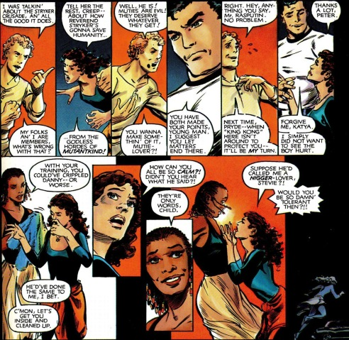 Kitty Pryde lets her emotions get the best of her.