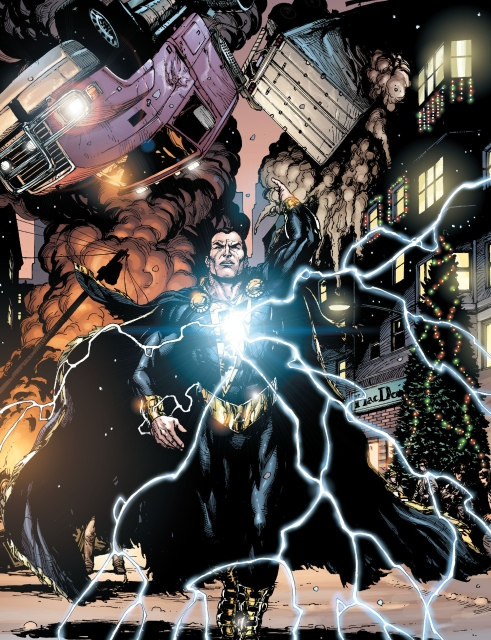 Black Adam is a supernatural force of evil.