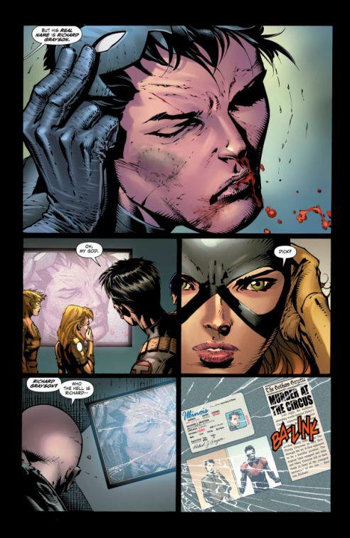 Nightwing unmasked!