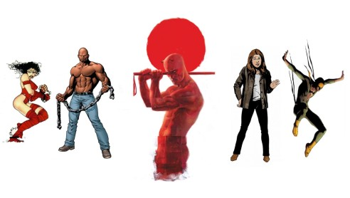 Daredevil will be the first Netflix series adapted by Marvel Studios, followed by Jessica Jones, Luke Cage and Iron Fist series.