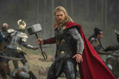 Chris Hemsworth prepares for more peace-keeping as Thor.