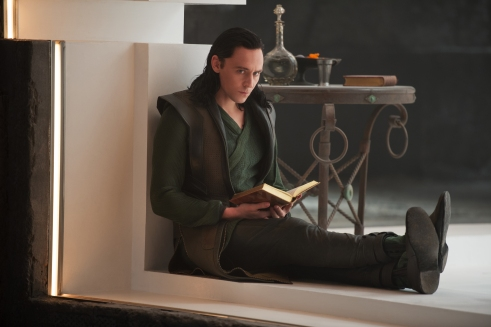 "To the benefit of ""Thor: The Dark World"", Hiddleston reprises his role as Loki."