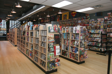 Midtown Comics in Times Square
