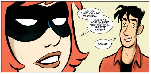 There is little room for doubt in Bandette's life.