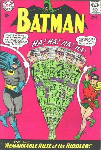 """Batman"" #171 cover by Carmine Infantino and Murphy Anderson"