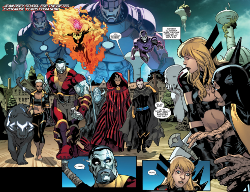 Immonen and Gracia introduce the future X-Men.