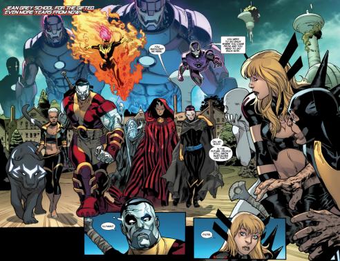 Immonen and Gracia introduce the future X-Men.