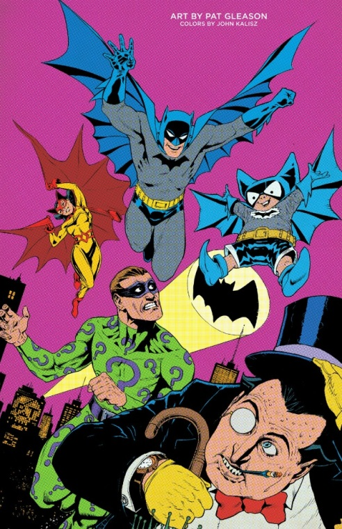 One of the many Bat-tastic pin-ups from this very special issue!