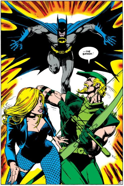 Batman vs. Green Arrow and Black Canary by Bolland.