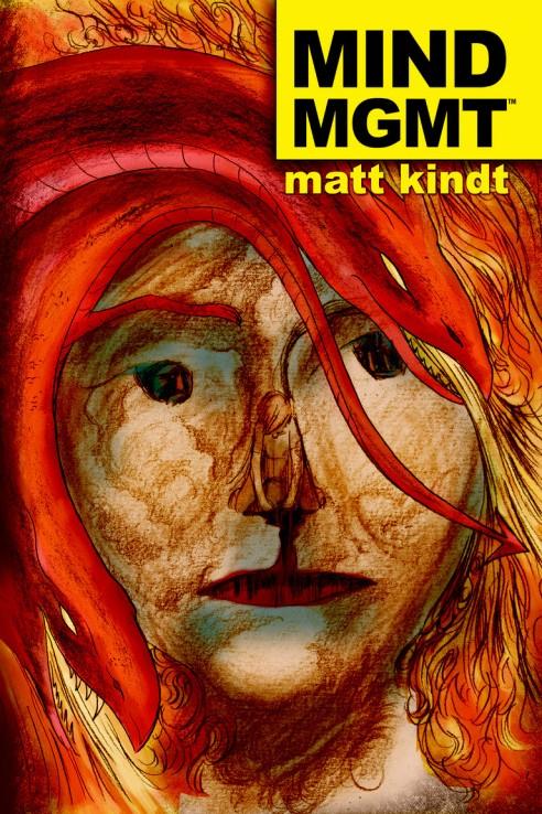 "One of Matt Kindt's stellar ""Mind MGMT"" covers."