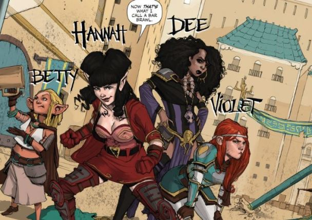 Rat Queens Featured