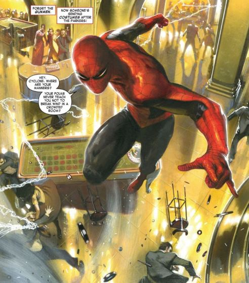 All bets are off as Spidey faces an old foe at a Monte Carlo casino.