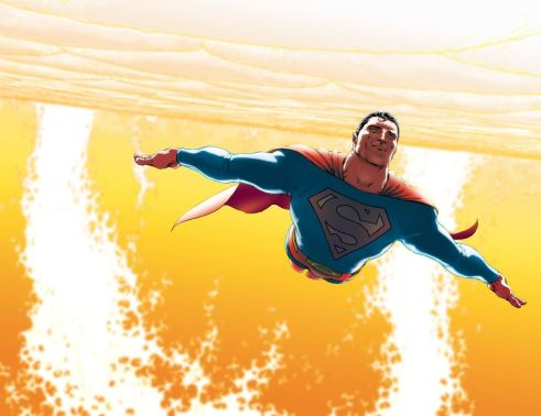 "Superman comes face to face with his own mortality in ""All-Star Superman""."
