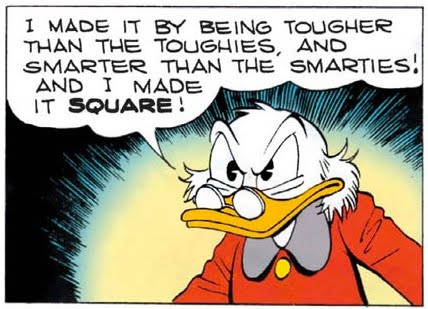 Uncle Scrooge is a survivor.