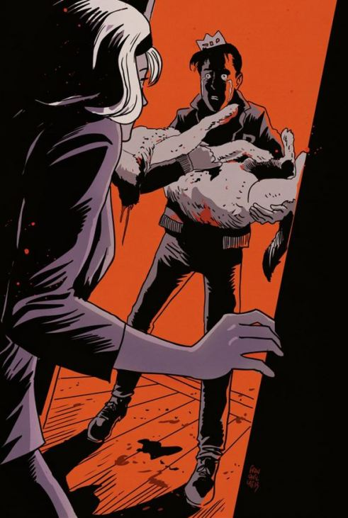 "The death of Jughead's dog starts off a serious of unfortunate events in ""Afterlife with Archie""."