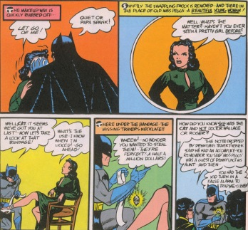 Image result for batman and catwoman first appearance