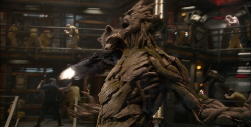 Rocket Racoon and Groot are amazing achievements in this special-effects extravaganza.