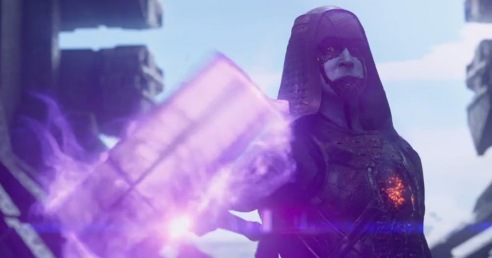 Pace serves up plenty of menace as Ronan the Accuser.