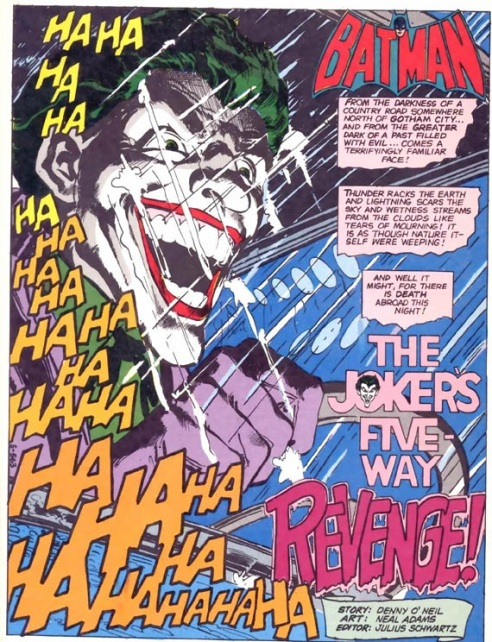 This opening splash page is sure to inflict nightmares.