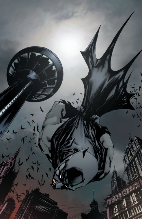 Jock creates one indelible Batman image after another.