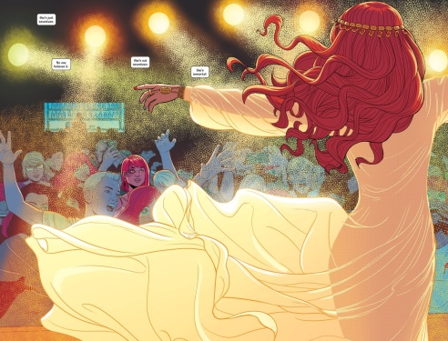 McKelvie and Wilson's imagery is nothing short of stunning.